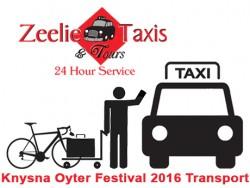 Knysna Oyster Festival Shuttle Service